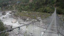 Çelik Halatlı İnsan Köprüsü Uygulaması, Çelik Halat İle Köprü Yapımı
