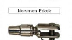 Paslanmaz AISI 316 ve AISI 304 Erkek-Dişi Norsmen