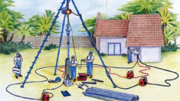 Dalgıç Pompalar için Pvc İzoleli Galvanizli Çelik Halatlar, Dalgıç Pompa Halatı