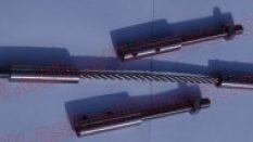 Çelik Halatlı Küpeşte Uygulamaları İçin Paslanmaz Terminaller Setskurlu